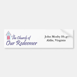 Church of Our Redeemer Bumper Sticker