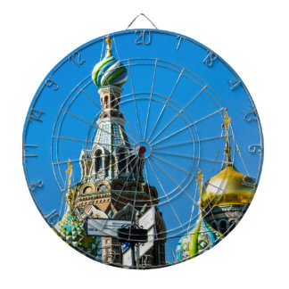 Church of Our Savior on Spilled Blood Dart Board