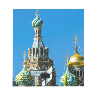 Church of Our Savior on Spilled Blood Notepad