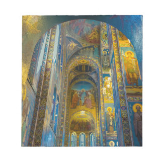 Church of Our Savior on The Spilled Blood, Cathedr Notepad