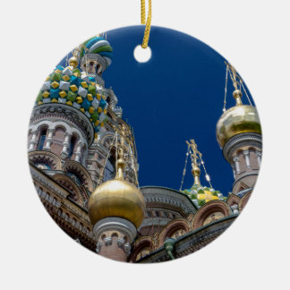 Church of Our Savior on The Spilled Blood Ceramic Ornament