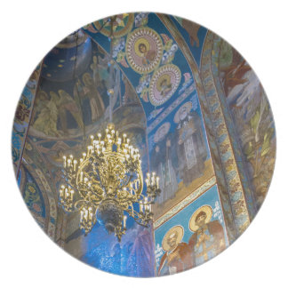 Church of Our Savior on The Spilled Blood Dinner Plate