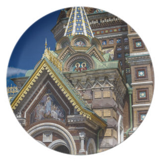 Church of Our Savior on The Spilled Blood Melamine Plate