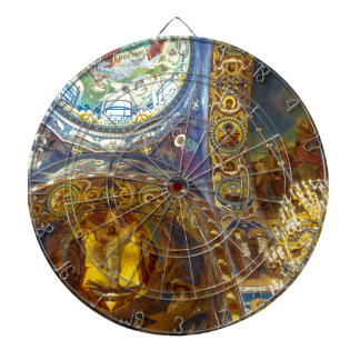Church of Our Savior on The Spilled Blood Russia Dartboard With Darts