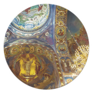 Church of Our Savior on The Spilled Blood Russia Dinner Plate