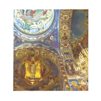 Church of Our Savior on The Spilled Blood Russia Notepad