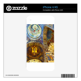 Church of Our Savior on The Spilled Blood Russia Skin For iPhone 4