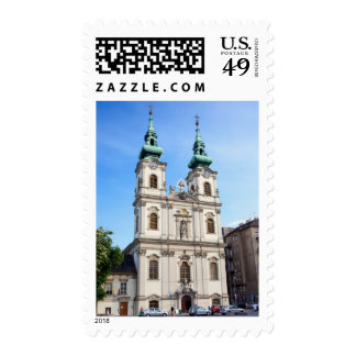Church of Saint Anne in Budapest Stamp