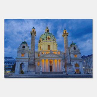 Church of Saint Charles, Vienna Yard Sign