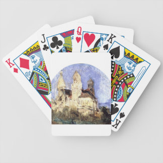 Church of Saint Lou d'Esserant in the Oise Bicycle Playing Cards