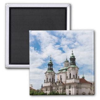 Church of Saint Nicholas 2 Inch Square Magnet