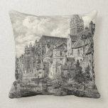 Church of Saint-Pierre 1891 Pillows