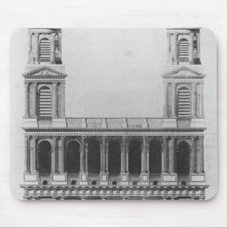 Church of Saint-Sulpice Mouse Pad
