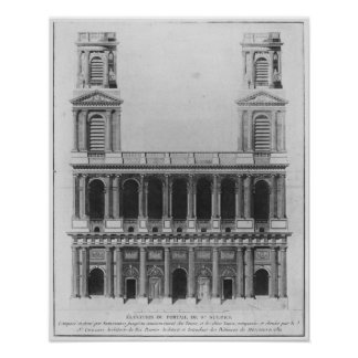 Church of Saint-Sulpice Poster