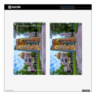Church of Saints Cyril and Methodius in Thessaloni Kindle Fire Decal