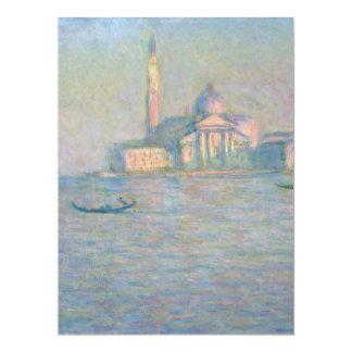 Church of San Giorgio Maggiore Venice by Monet Card
