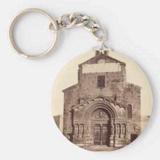 Church of San Trophine Keychain