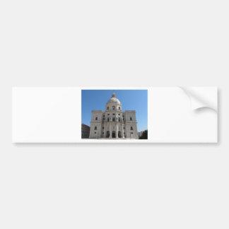 Church of Santa Engracia or National Pantheon Bumper Sticker