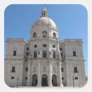 Church of Santa Engracia or National Pantheon Square Sticker