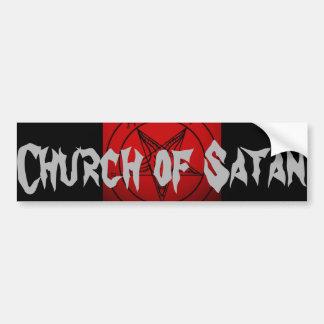 CHURCH OF SATAN CAR BUMPER STICKER