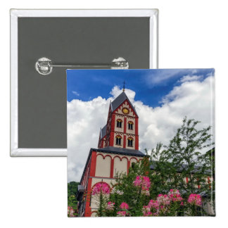 Church of St. Bartholomew, Liege, Belgium Button