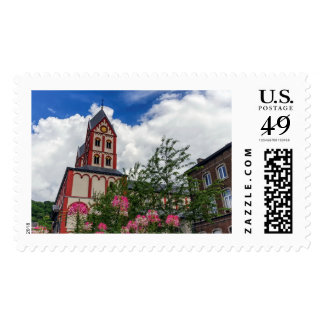 Church of St. Bartholomew, Liege, Belgium Postage
