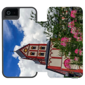 Church of St. Bartholomew, Liege, Belgium Wallet Case For iPhone SE/5/5s