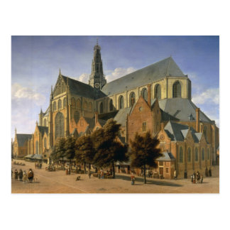 Church of St. Bavo in Haarlem, 1666 Postcard