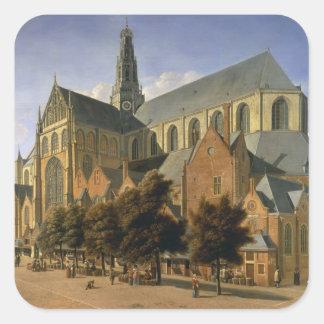 Church of St. Bavo in Haarlem, 1666 Sticker