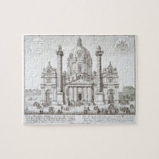 Church of St. Charles Borromeo (1538-84), Vienna, Jigsaw Puzzle