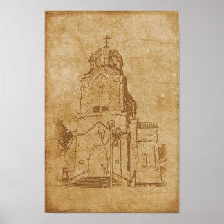 Church of St. Elijah Poster