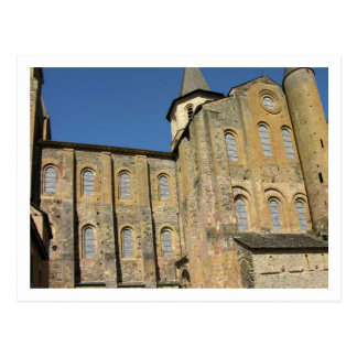 Church of St. Foy, begun c.1050 by Abbot Odolric ( Postcard