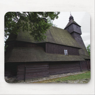 Church of St Francis Assisi - Hervartov - Slovakia Mouse Pad