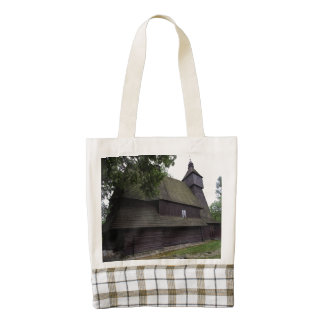 Church of St Francis Assisi - Hervartov - Slovakia Zazzle HEART Tote Bag