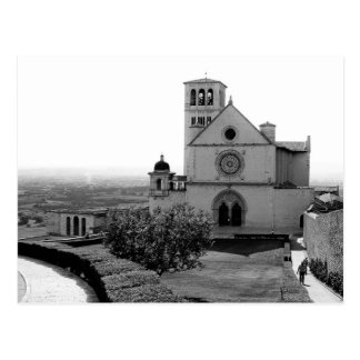 Church of St. Francis of Assisi, Italy, Postcard
