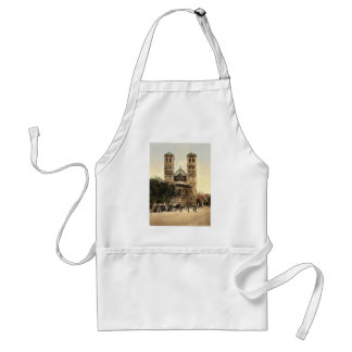 Church of St. Gereon, Cologne, the Rhine, Germany Adult Apron