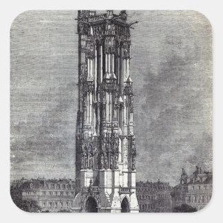 Church of St. Jacques de la Boucherie Square Sticker