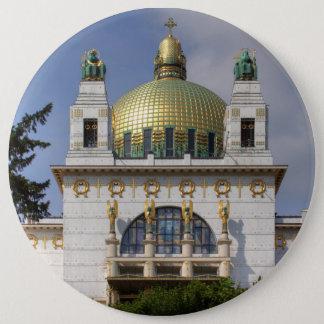 Church of St. Leopold Vienna Austria Button