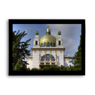 Church of St. Leopold Vienna Austria Envelope