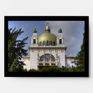 Church of St. Leopold Vienna Austria Envelopes