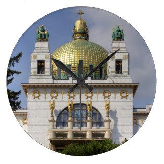 Church of St. Leopold Vienna Austria Large Clock