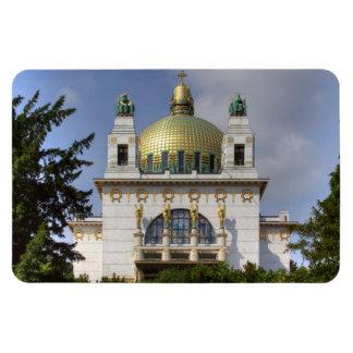 Church of St. Leopold Vienna Austria Rectangular Photo Magnet