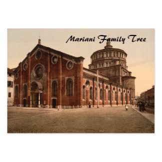 Church of St Mary the Gracious, Milan, Italy Large Business Cards (Pack Of 100)