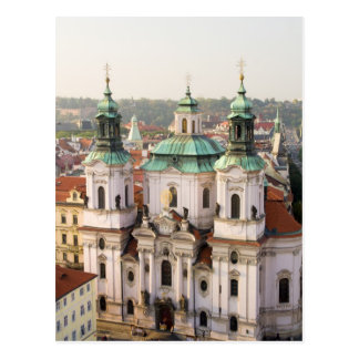 Church of St. Nicholas in Prague Postcard