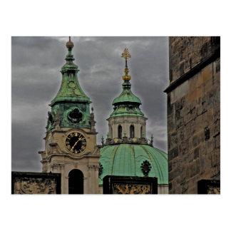 Church Of St.Nicholas, Prague Postcard