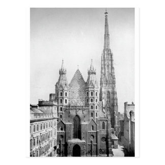 Church of St. Stephens, Vienna circa 1890 Postcard