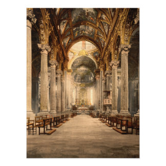 Church of the Annunciation, Genoa, Italy Archival Print
