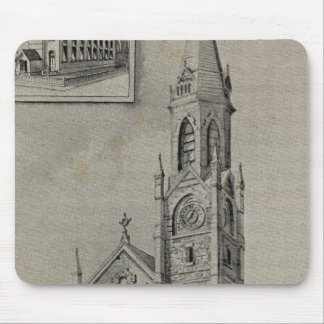 Church of the Assumption, Ansonia, Conn Mouse Pad