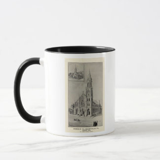 Church of the Assumption, Ansonia, Conn Mug