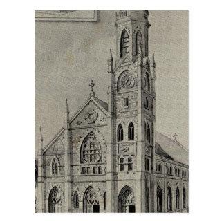 Church of the Assumption, Ansonia, Conn Postcard